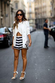 Von ultrakurz bis knielang: Wir haben die Outfit-Tipps für kurze Hosen in jeder Länge zusammengestellt.