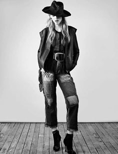 Cowgirl Couture Captures - The Hanna Wahmer Marie Claire Italia Shoot is Western-Inspired (GALLERY)