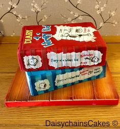 Diary of a Wimpy Kid - cake by Daisychain's Cakes - CakesDecor