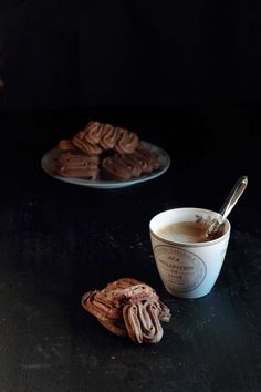 Chestnut chocolate cookies