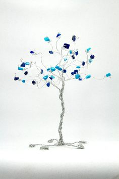 Wire tree. made one of these before, so fun