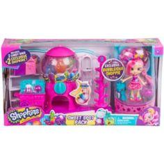 Shopkins+Bubbleisha+Shoppie+Sweet+Spot+Pack+Gumball+Playset+