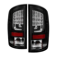 ( Spyder ) Dodge Ram 02-06 1500 / Ram 2500/3500 03-06 Version 2 LED Tail Light - Black