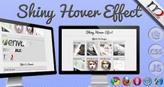 Buy Shiny Hover Effect by Jokero on CodeCanyon. Overview Shiny Hover Effect could be apllied to any html element and could be customized for your own needs. image h. Web Design Tips, Web Design Company, Seo Packages, Seo Digital Marketing, Browser Support, Vancouver, Internet Explorer, This Or That Questions