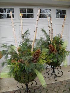 My version of the birch branch arrangements