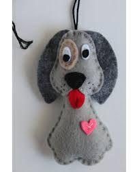 """Résultat de recherche d'images pour """"felt dog ornaments"""""""
