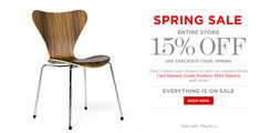 Spring Sale is on! Take 15% off all orders between now and March 20. Use code 'SPRING' at checkout. Happy shopping!