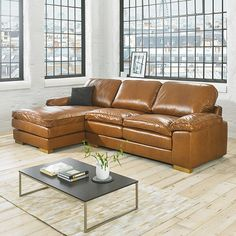 1000 Ideas About Leather Corner Sofa On Pinterest