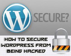 How to Secure WordPress Blog from Hackers WordPress blog hacks can be very annoying and are very real as well. Over 90,000 botnet hack attacks are recorded every...... Read more at: http://www.wptemplate.com/tutorials/how-to-secure-wordpress-blog-from-hackers.html