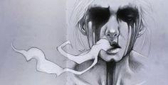 Smoke. Sketchbook by sashajoe