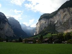 Lauterbrunnen (Switzerland) - I spent my 15th birthday here!