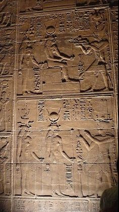 Godess Isis At Her Temple At Philae.... #Aswan