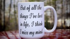 My Mind Coffee Mug by RawkOutTrends on Etsy