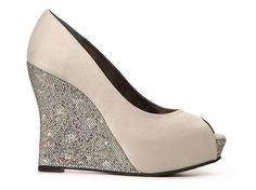 Nina Mahala Wedge Pump Bride Wedding Shop Women's Shoes - DSW