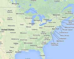 Geographic Midpoint Calculator, find the midpoint to travel to between two places