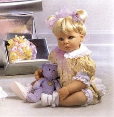 Lee Middleton Doll - Cctober Birthstone Baby