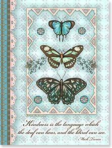 Thank You & Appreciation Card - How Kind of You!   Barbara Ann Kenney   13873   Leanin' Tree