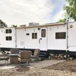 Ideas Repair Small Campers Classic Travel Trailer, If you're going to be residing in your camper fulltime, then you want to be certain that you track down an RV that's right for your lifestyle and your..., #campers #classic #ideas #repair #small #trailer #travel Motorhome Interior, Rv Interior, Interior Ideas, Used Campers, Small Campers, Dresser With Tv, Slide In Camper, Travel Camper, Bedroom Color Schemes