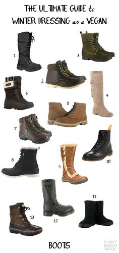 Love !2, 8, 1p, amd 13. Size 7 5. Winter Boots // The Ultimate Guide to Winter Dressing as a Vegan // Plant Based Bride