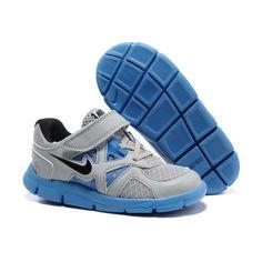 Nike Lunarglide Kids Cool Grey Royal Blue [Cheap Shoes 4899] - $55.29.. Zapatillas  Para Correr NikeCalzado ...