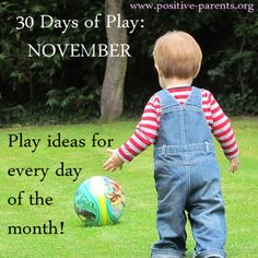 Positive Parents: 30 Days of Play in November!