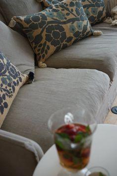 almofadas, 45*70 Friso de azulajaria portuguesa  Burlap, impresso