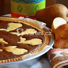 Francouzský hruškový koláč recept - Vareni.cz Pie, Cookies, Desserts, Food, Torte, Crack Crackers, Tailgate Desserts, Cake, Deserts