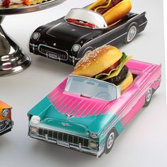 Classic Cruisers ® 56 Chevy Hot Rod Antique Car Party Favor