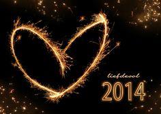 Liefdevol Nieuwjaar - 2014 vuurwerk