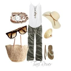 Great outfit for sightseeing! Summer Casual - Polyvore