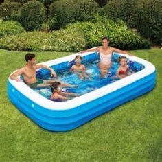 18 Backyard Fun Ideas Backyard Fun Inflatable Pool Kiddie Pool