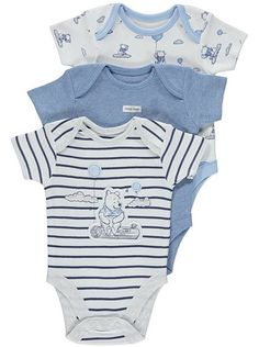 Disney Winnie the Pooh 3 Pack Bodysuits , read reviews and buy online at George at ASDA. Shop from our latest range in Baby. Any one of these…