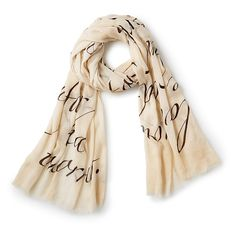 Love Quote Scarf