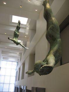 Learned Huge Sale Lost Wax Method Duck Vienna Bronze Artwork Sculpture Statue Hot Cast Perfect In Workmanship Art