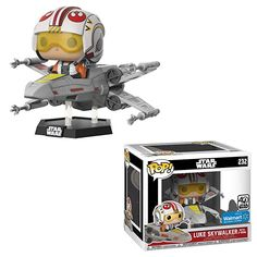 149 99 Free Shipping Funko Star Wars Luke Skywalker With X Wing Exclusive Funko Pop Star Wars Star Wars Luke Funko Pop