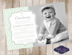 Christening Invitations, Baptism Invitation, Print yourself, Christening Printable, Baptism Printable, Naming Day Invitations