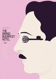 The Grand Budapest Hotel #MinimalPoster