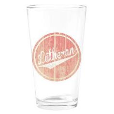 Lutheran Beer Glass!