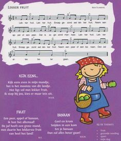 thema fruit kleuters - Google zoeken Music For Kids, Kids Songs, Fruits Images, Too Cool For School, Fruits And Vegetables, Kindergarten, Preschool, Projects, Fun