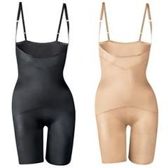 Body Illusions Open-Bust Thigh Slimmer