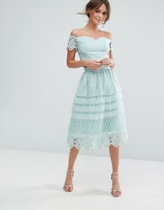 Mint Midi Skirt In P