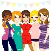 Today, 1 August, is Girlfriends Day. Celebrate it with all your wonderful girl friends