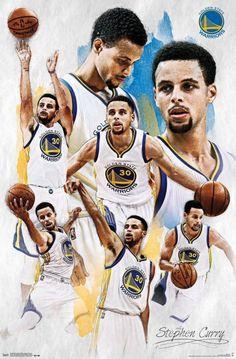 Trends International NBA Golden State Warriors - Stephen Curry, x Premium Unframed Stephen Curry Poster, Nba Stephen Curry, Warriors Stephen Curry, Poster Football, Basketball Posters, Basketball Pictures, Nba Basketball, Basketball Videos, Sports Posters