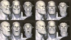 Josh Brolin shows off his Thanos expressions behind the scenes of 'Avengers: Infinity War' 🎬 (via r/MarvelStudios) Marvel Dc, Marvel Actors, Marvel Memes, Thanos Marvel, The Avengers, Stucky, Green Screen Photo, Dc Comics, Josh Brolin