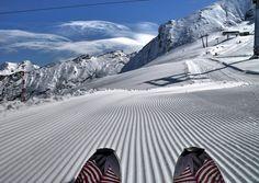 A Kitzsteinhorn gleccser Salzburg, Mount Everest, Skiing, Mountains, Nature, Fun, Travel, Pictures, Kaprun