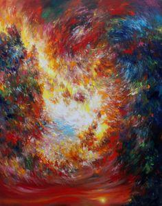 Mario Vespasiani: Senza titolo - 150x190 cm, olio su tela, 2012