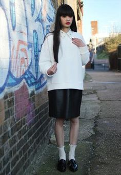 Leather Skirt   £33