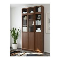 billy oxberg librer a blanco enchapado de madera. Black Bedroom Furniture Sets. Home Design Ideas