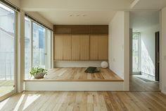 究極のシンプルをめざした住まいに家族の温かな暮らしが息づく | 建築実例 | 戸建住宅 | 積水ハウス Bedroom Minimalist, Minimalist Home Interior, Minimalist House, Bedroom Modern, Japanese Style House, Japanese Interior Design, Japan Apartment, Home Office Design, House Design