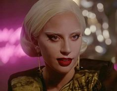 Ahs Hotel Lady Gaga, Lady Gaga Countess, Lady Gaga Photoshoot, Bleached Eyebrows, American Horror Story Hotel, Lady Gaga Pictures, Film Aesthetic, Celebs, Celebrities